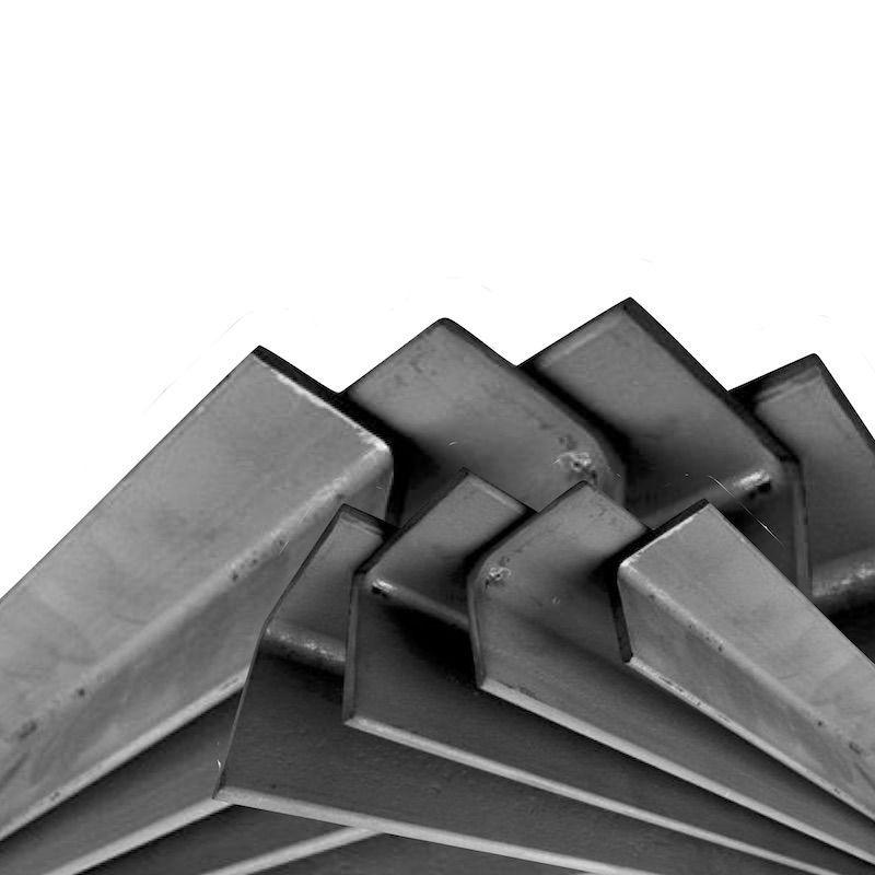angulo de acero estructural para soldar