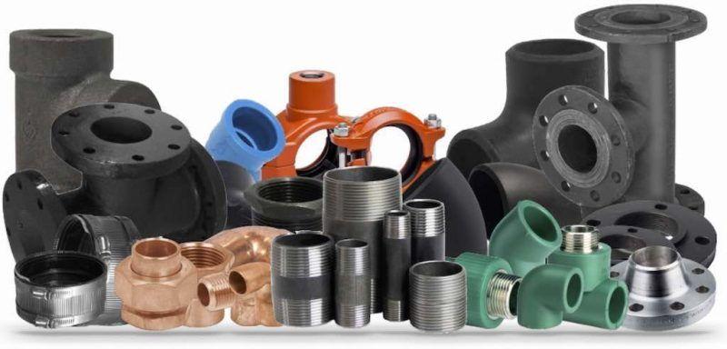 varios tipos conexiones de acero al carbon sondables