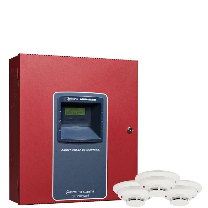 Detector de humo y tablero
