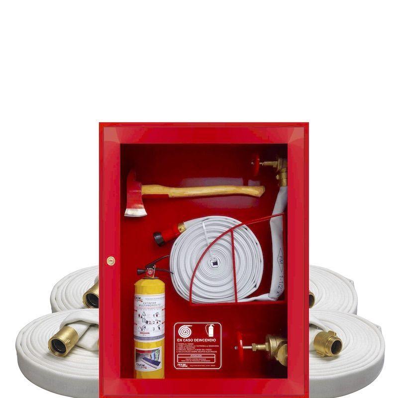 Gabinetes de lamina y equipo contra incendio