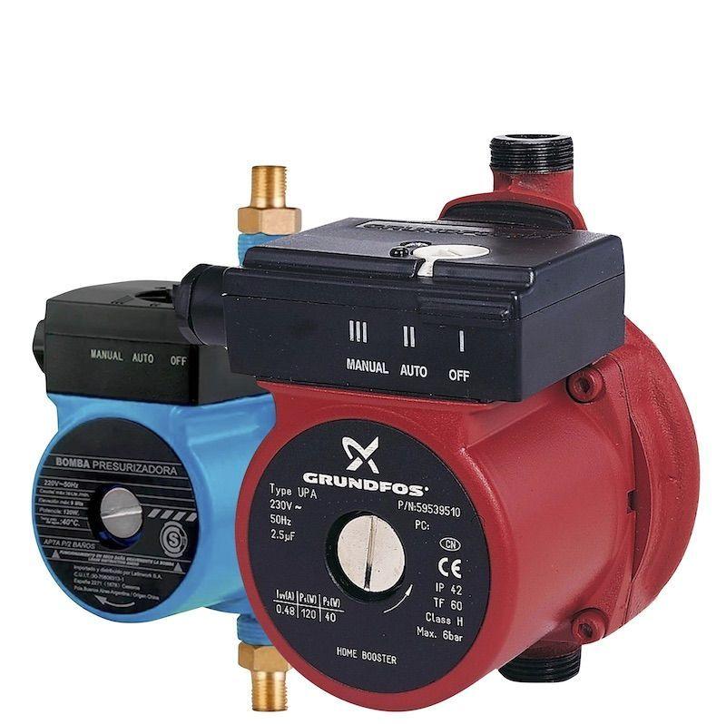 bombas presurizadores y recirculadores de agua