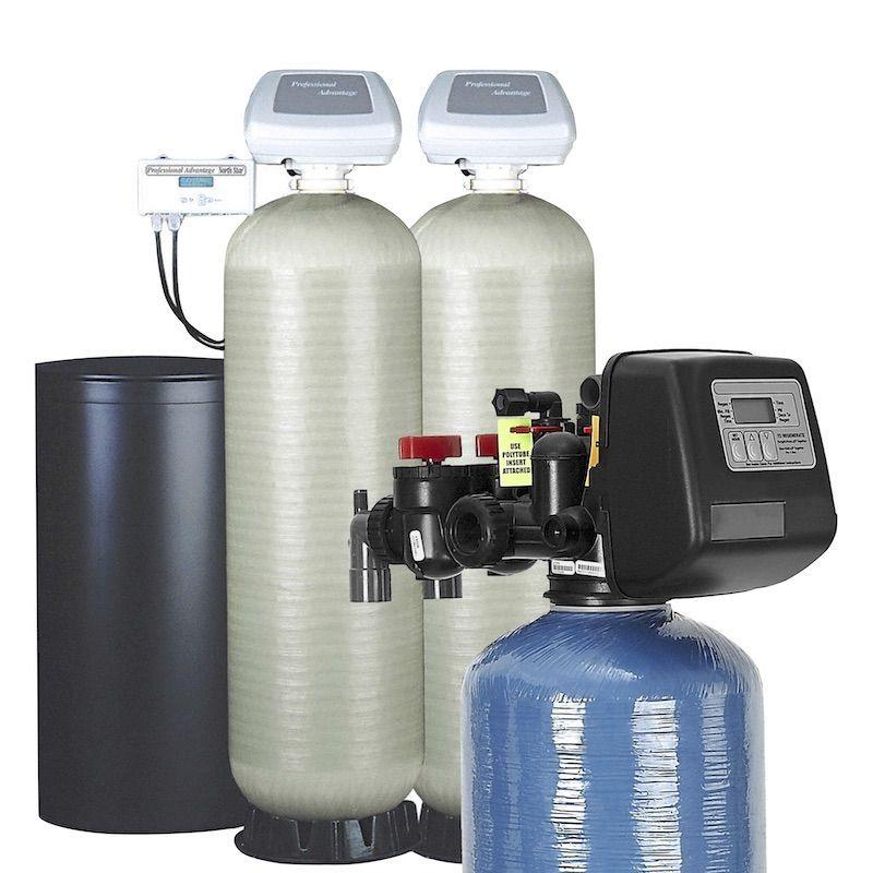suavizadores de agua con válvula automática.