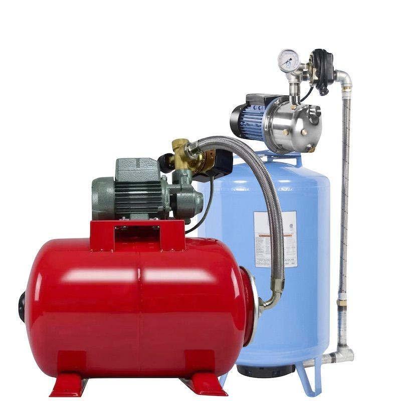 Equipos hidroneumáticos presurizadores de agua